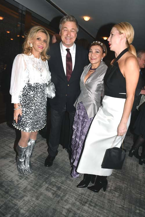 Nicole Salmasi, Alec Baldwin, Mariebelle Lieberman. Photo by:  Rose Billings/Blacktiemagazine.com