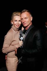 Trudie Styler, Sting © Mark Von Holden