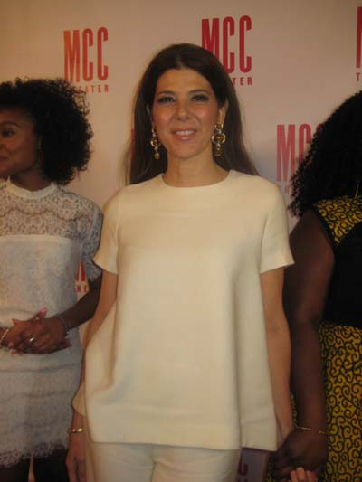 04-09-16 Honoree Marisa Tomei at the MCC Theater's annual Miscast 2016 honoring Marisa Tomei at the Hammerstein Ballroom. 311 West 34th St. Monday night 04-04-16.  Photo by:  Aubrey Reuben