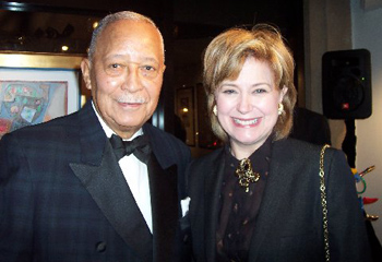 The Honorable David Dinkins and Jane Pauley