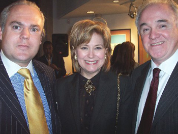 David Nolan, Jane Pauley and Turlough McConnell