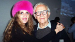 Albert Maysles'Holiday party