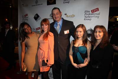 Kimberly Cheri Gresham actress,mode, Sarah Stryker, actress,model,lRichard Alan of Richard Alan Management, Miranda, Aurora LaGrutta