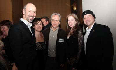 Pasquale De Martino, Jennifer Galleti, Dean Love, Ducvall O'Steen and David Kogut