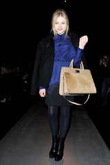 Chlo� Grace Moretz Attends Sportmax Fall 2012 Show in Milan