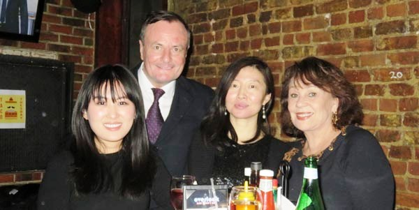 janet, Gerard Mc Keon, Publisher, Black Tie China, Cathy Han, Black Tie China,