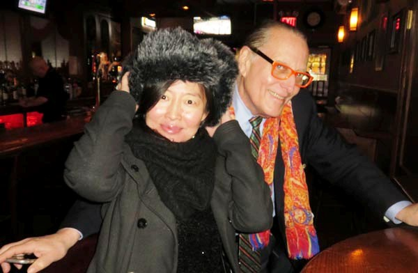 Cathy Han, Black Tie China,,Errol Rappaport, West Coast Editor, Black Tie International Magazine,