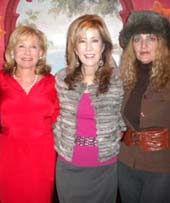 sharon bush, lisa osteen, joyce brooks