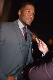 Michael Strahan.  Photo by:  Rose Billings/Blacktiemagazine.com