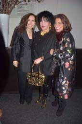 Jana Jaffa, Loreen Arbus and Muna Rihani.  Photo by:  Rose Billings/Blacktiemagazine.com