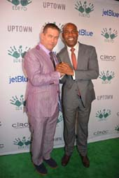 Stephen Baldwin Host and Unik Ernest, Co-Founder Edeyo Foundation.  Photo by:  Rose Billings/Blacktiemagazine.com
