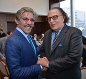 Geraldo Rivera and Errol Rappaport.  Photo by:  Jillian Nelson