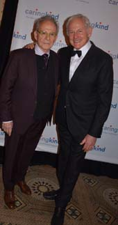 Ron Ricki and Victor Garber.  Photo by:  Rose Billings/Blacktiemagazine.com