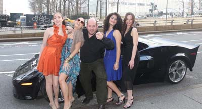 Actresses Nicole Melillo, Eleonora Patracca, Barry Brown Photographer. Danielle Melillo & Kristina Coppola