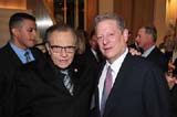 larry king, al gore
