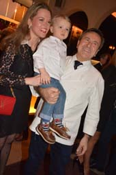 Katherine, Julien, and Chef Daniel Boulud.  Photo by:   Rose Billings/Blacktiemagazine.com