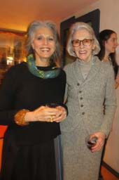 Ruth Lande Shuman and Barbara Tober.  Photo by:  Joyce Brooks/Blacktiemagazine.com