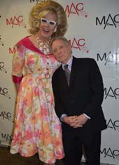 Doris Dear and Dick Cavett.  Photo by: Rose Billings/Blacktiemagazine.com
