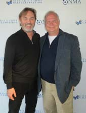 Richard Thomas and Gary Spriner.  Photo by: Joyce Brooks/Blacktiemagazine.com
