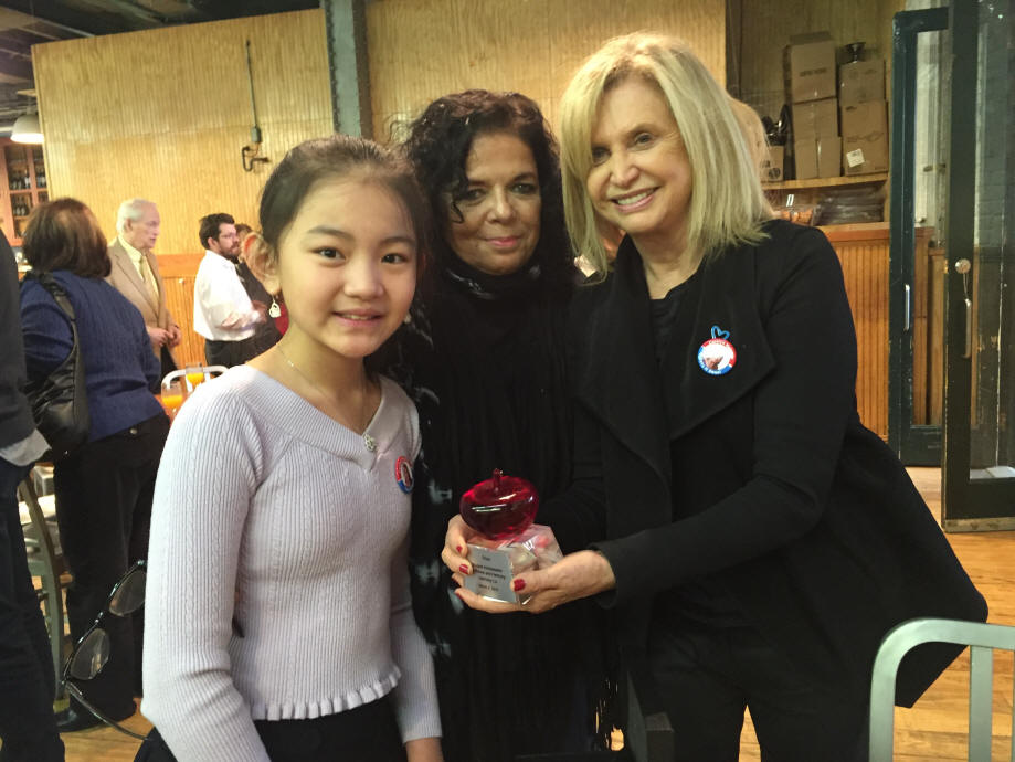 Carolyn B Maloney, US House of Representatives, Harmony Liu