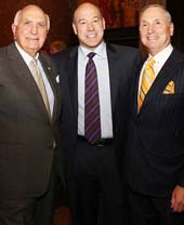 Ken Langone, president and COO of Goldman Sachs Gary Cohn, and Dr. Robert I. Grossman MD attend the NYU Langone Musculoskeletal Ball 2016 on November 15, 2016 in New York City. (Photo by Robin Marchant/Getty Images for NYU Langone Medical Center)Ken Langone, president and COO of Goldman Sachs Gary Cohn, and Dr. Robert I. Grossman MD attend the NYU Langone Musculoskeletal Ball 2016 on November 15, 2016 in New York City. (Photo by Robin Marchant/Getty Images for NYU Langone Medical Center)