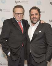 Broadcasting legend Larry King and top Hollywood filmmaker Brett Ratner