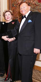 Barbara Taylor Bradford, OBE and Robert Bradford. Photo by:: Noel Sutherland