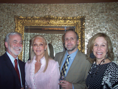 Christopher J. Collins, Executive Director Solar 1, Barbara Winston, Nigel Nicholls and Mitzi Perdue