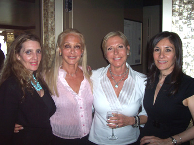 Joyce Brooks, Barbara Winston, Dr. Erika J. Schwarts, MD and Barbara Capozzi, DO